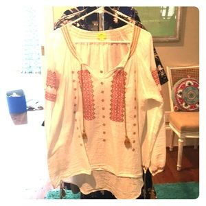 Roberta Roller Rabbit Boho Shirt